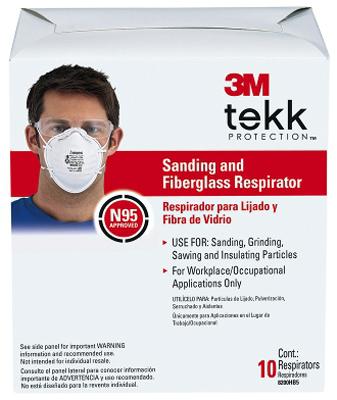 10Pk Sand Fbg Respirator