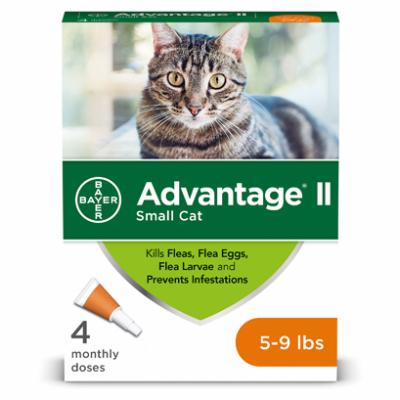Advantage Small Cat 5-9 lb 4pk