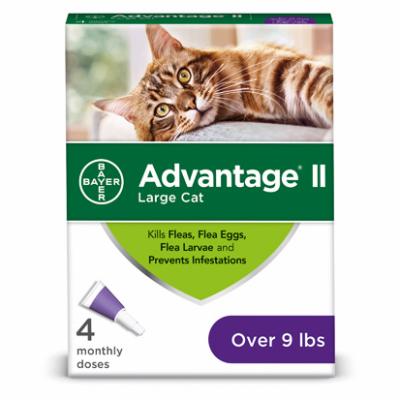 Advantage Small Cat 10-18 lb 4pk