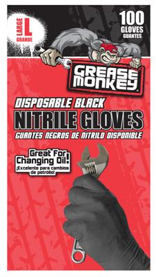 100CT Lg Disp Nitrile Glove