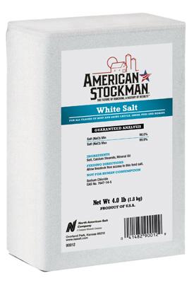 White Salt Manger Brick