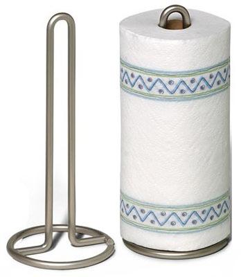 Nickel Paper Towel Holder