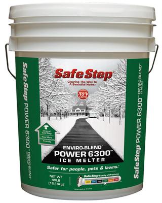 ICE MELT, SAFE 6300 40LB PAIL
