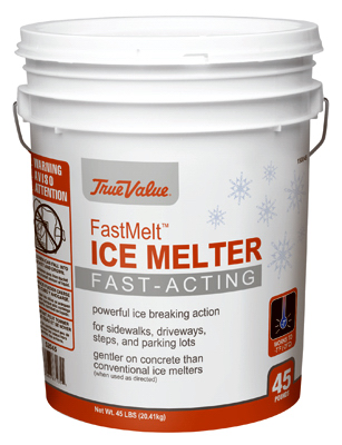 ICE MELT, FAST MELT 45LB