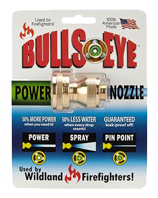 """1.25"""" BRS PWR Nozzle- HOSE END"""