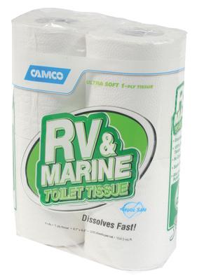 4PK 1Ply RV Toilet Tissue