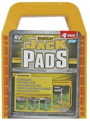4-PK Stabilizer Jack Pad