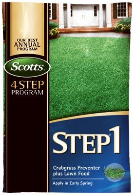 5000 SQFT Step1 Crabgrass