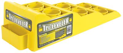 Yellow RV Tri-Leveler