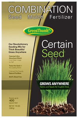 GT 10LB Seed/Mulch