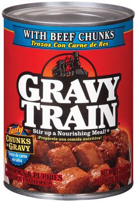 Gravy Train Dog Food Can