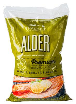 20LB Alder BBQ Pellets
