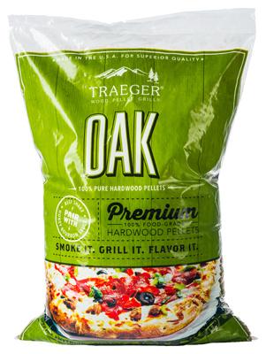 20LB Oak BBQ Pellets