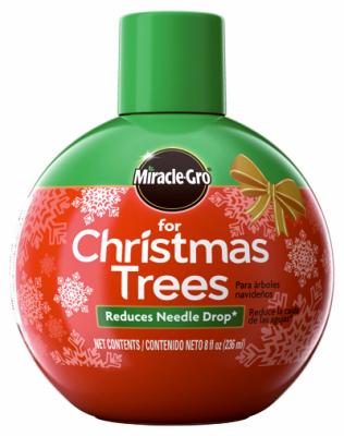 Miracle gro christmas tree food