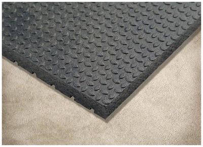 4x6x3/4 Equine Stall Mat Texture