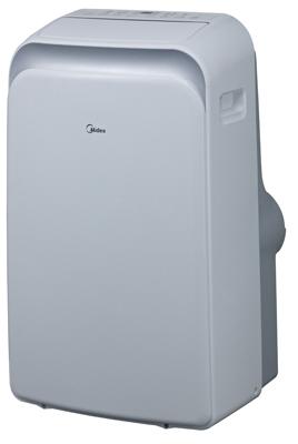 Midea MPPD-14HRN1-BH9 Portable Air Conditioner, 115 V, 14000 Btu Cooling