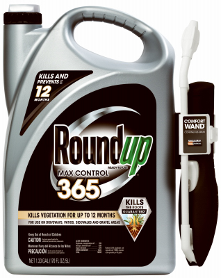 Roundup 365, ready to use, vegetation killer, with wand. 1.33 gallon.