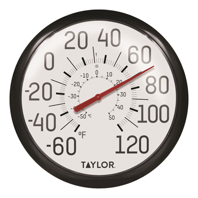 """12"""" Ind/Outdr Thermometer"""