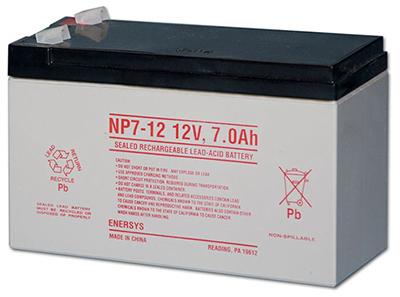 12V SLA Repl Battery