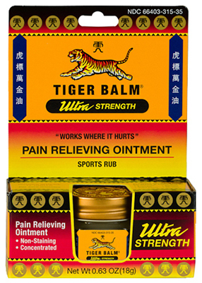 Tiger balm how it works