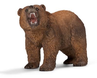Schleich Brown Grizzly Bear