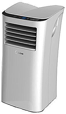 Midea MPPH-10CRN1-B10 Portable Air Conditioner, 115 V, 10000 Btu Cooling