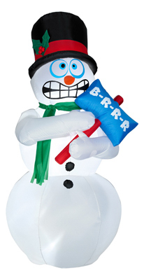 Animated Shiv Snowman 86235