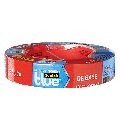 "Blue Painter's Tape, Basic, .94"" x 60 yd."