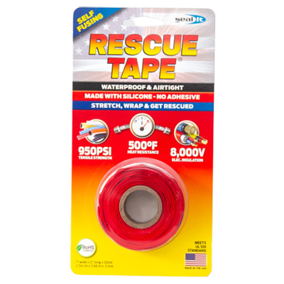 "1""x12' RED Rescue Tape"