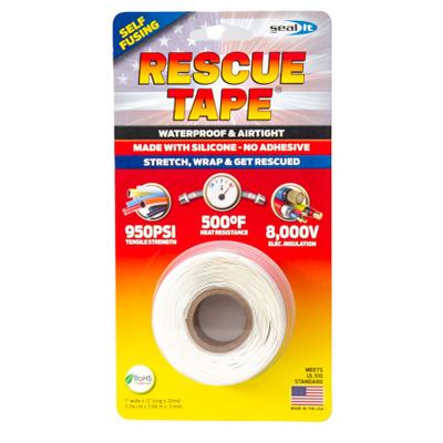 """1""""x12' WHT Rescue Tape"""