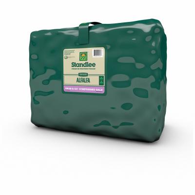 Standlee Certified Weed-Free Alfalfa Bale, 50 lb.