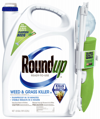 Roundup, ready to use, weed & grass killer. 1.33 gallon.