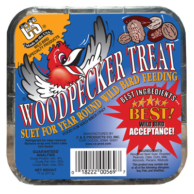11OZ Woodpecker Suet