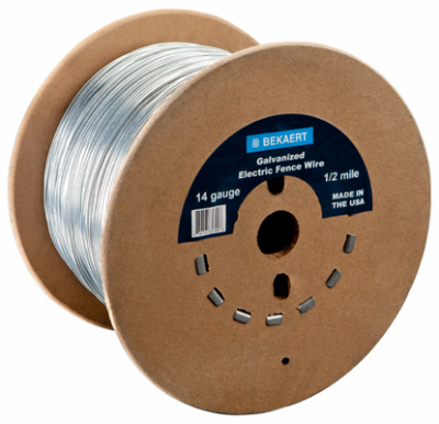 Bekaert Electric Fence Wire 14 guage x 1,320 ft.