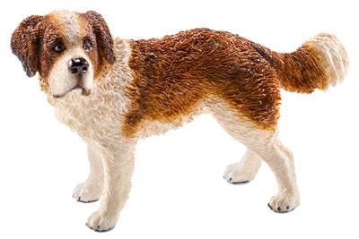 BRN/WHT St Bernard Dog