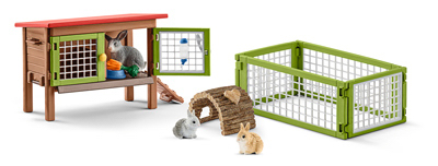 BRN/GRN Rabbit Hutch