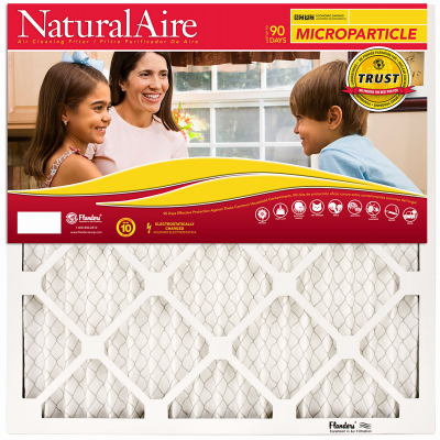 NaturalAire 85256.011825 Air Filter, 25 in L, 18 in W, 10 MERV