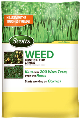 5000-Sq Ft Weed Control