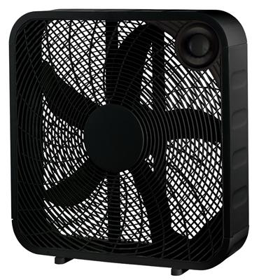 """HP 20"""" BLK Box Fan"""