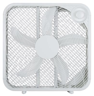 """HP 20"""" WHT Box Fan"""