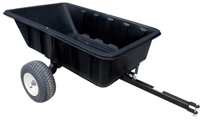 MR 1000LB Poly Dump Cart