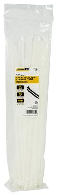 GB SecuriTie CT17-17550 Cable Tie, Nylon, Natural