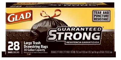 28CT 30GAL Trash Bag