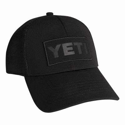 Yeti BLK Trucker Hat