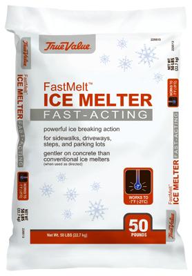 ICE MELT, FAST MELT 50LB
