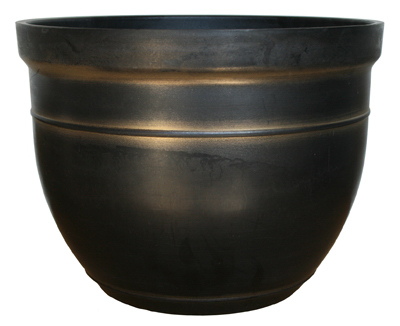 Southern Patio CMX-040194 Planter, 15 in Dia, 15 in W, 15 in D, Round,
