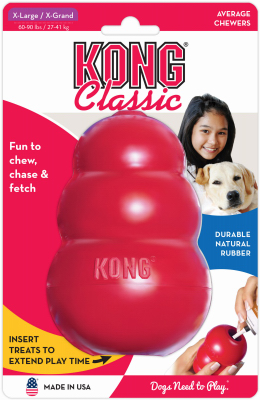 Kong XL RED Dog Toy