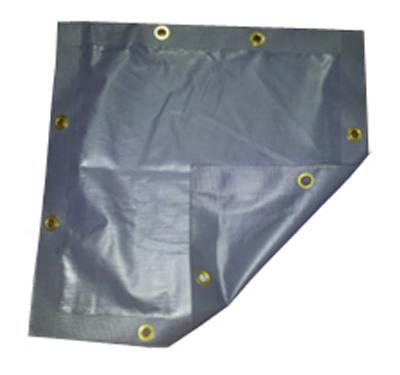 TG 10x12 GRY PVC Tarp