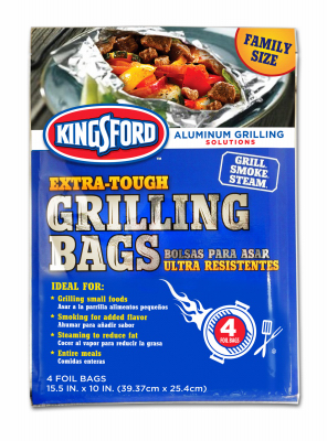 4PK 15.5x10 Grill Bags