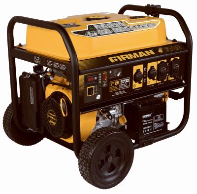 7125W Remote Generator